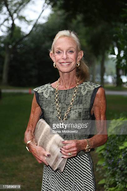 Linda Lindenbaum attends the 2013 Guild Hall Summer Gala at Guild Hall on August 9 2013 in East Hampton New York