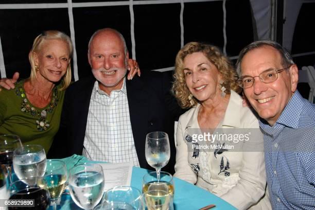 Linda Lindenbaum Michael Lynne Frida Furman and Roy Furman attend The Art of Fashion in The Hamptons GUILD HALL Summer Gala Honoring MARJORIE F...