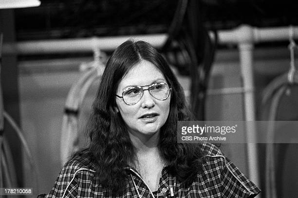 Linda Lovelace being interviewed on THE STANLEY SIEGEL SHOW. Image dated February 6, 1980.