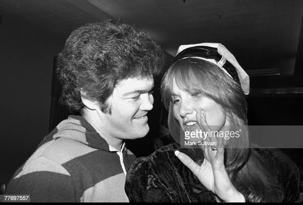 Linda Lovelace with Mickey Dolenz at Linda Lovelace for President party in Hollywood, CA 1975; Various Locations; Mark Sullivan 70's Rock Archive;...