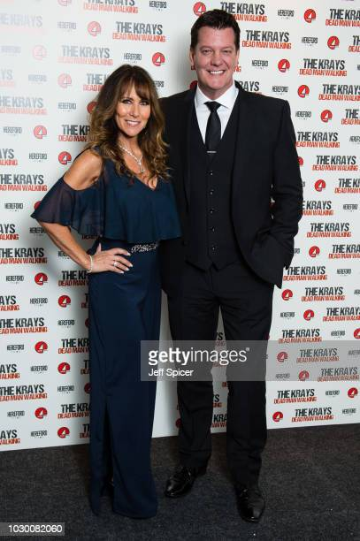 Linda Lusardi and Sam Kane attend 'The Krays Dead Man Walking' UK premiere at The Genesis Cinema on September 9 2018 in London England