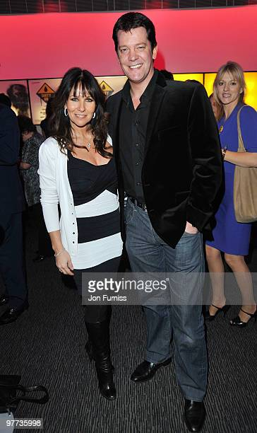 Linda Lusardi and Sam Kane attends the UK Film Premiere of 'Dirty Oil' at Barbican Centre on March 15 2010 in London England