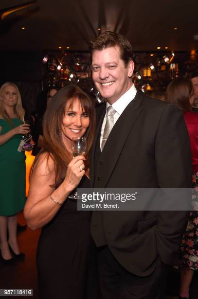 Linda Lusardi and Samuel Kane attend as Cooper Hefner hosts VIP party at Playboy Club London to celebrate Playboy's nomination at the British LGBT...