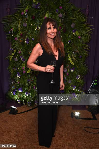 Linda Lusardi attends as Cooper Hefner hosts VIP party at Playboy Club London to celebrate Playboy's nomination at the British LGBT Awards taking...