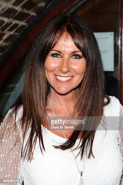 Linda Lusardi attends the gala night performance of Dusty at the Charing Cross Theatre on July 14 2015 in London England