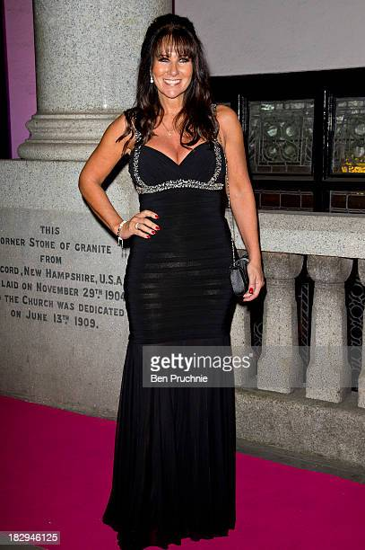 Linda Lusardi attends the Inspiration Awards for Women at Cadogan Hall on October 2 2013 in London England