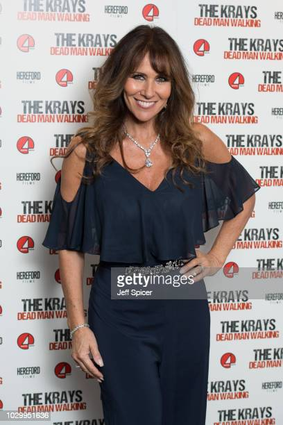 Linda Lusardi attends 'The Krays Dead Man Walking' UK premiere at The Genesis Cinema on September 9 2018 in London England