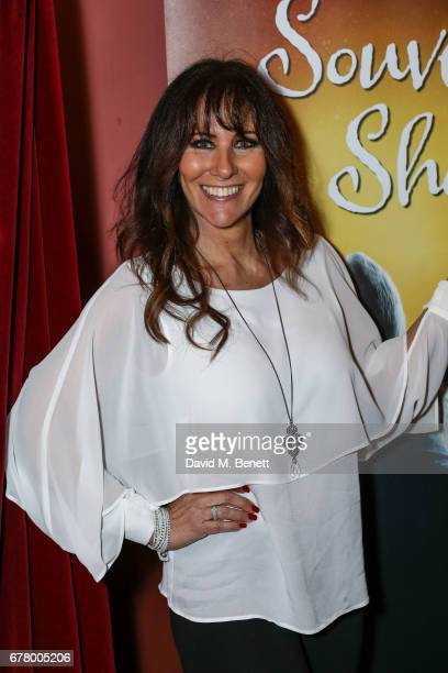 Linda Lusardi attends the press night performance of Wonderland at New Wimbledon Theatre on May 3 2017 in Wimbledon England