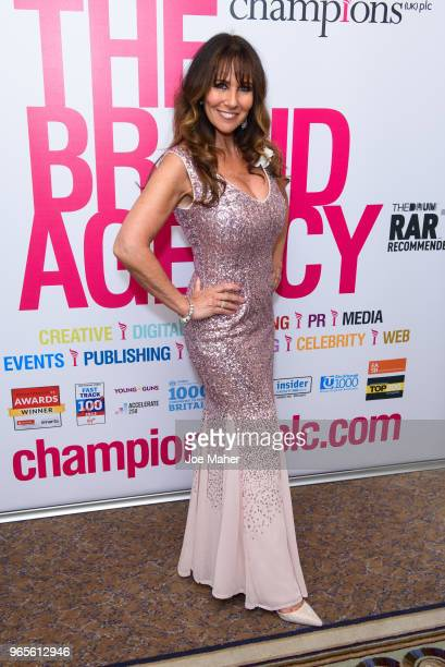 Linda Lusardi attends the Rainbows Celebrity Charity Ball at Dorchester Hotel on June 1 2018 in London England