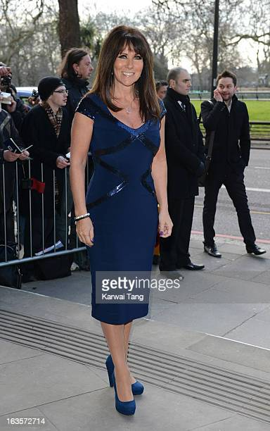 Linda Lusardi attends the TRIC awards at The Grosvenor House Hotel on March 12 2013 in London England