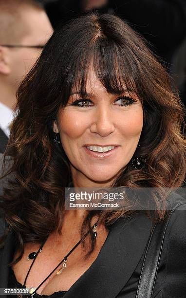 Linda Lusardi attends the TRIC Awards at The Grosvenor House Hotel on March 9 2010 in London England