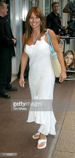 Linda Lusardi during New York Minute London Premiere Arrivals at Odeon West End in London Great Britain