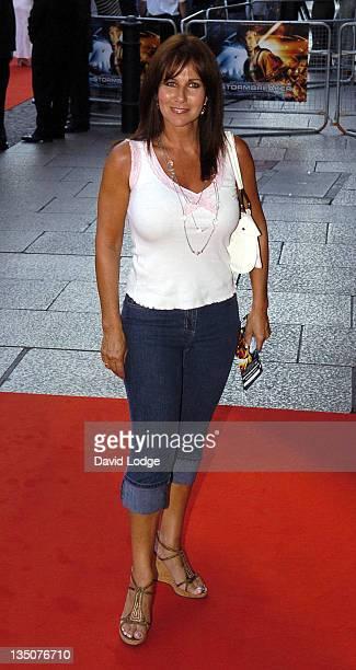 Linda Lusardi during Stormbreaker London Premiere at Vue West End in London Great Britain