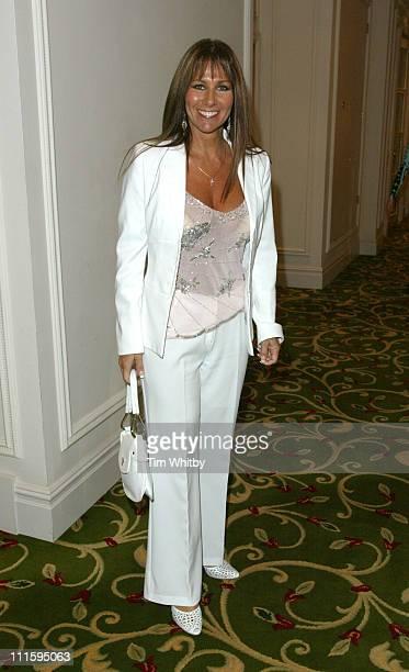 Linda Lusardi during The Bill 20th Anniversary Luncheon at Grosvenor Hotel in London United Kingdom