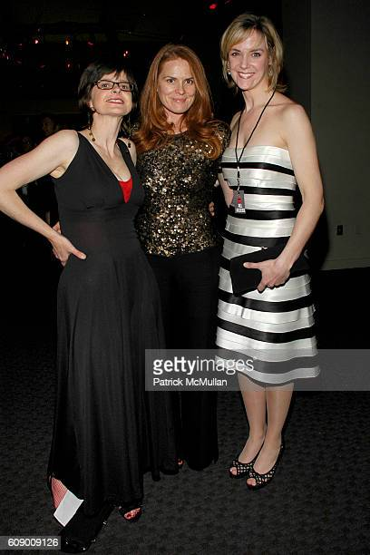 Linda Luscombe Mary Stengel and Julie Hera attend TIME Magazine's 100 Most Influential People 2007 at Jazz at Lincoln Center on May 8 2007 in New...