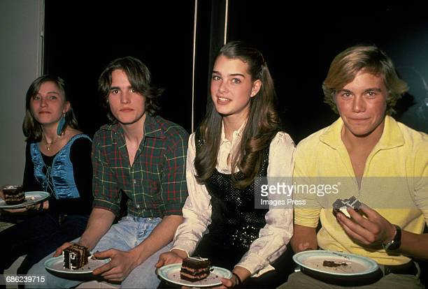 Linda Manz Matt Dillon Brooke Shields and Christopher Atkins circa 1980 in New York City