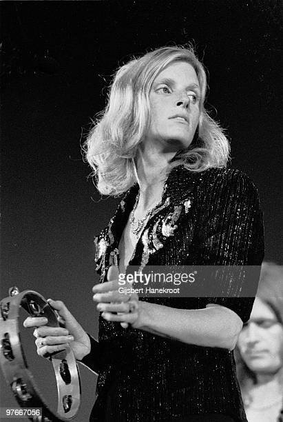Linda McCartney from Wings performs live on stage at The Theatre Antique in Arles France on July 13 1972