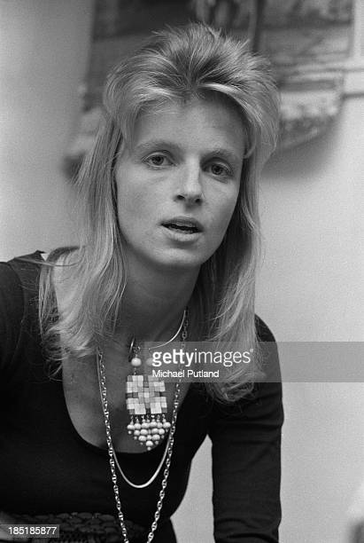 Linda McCartney of pop group Wings 23rd November 1973