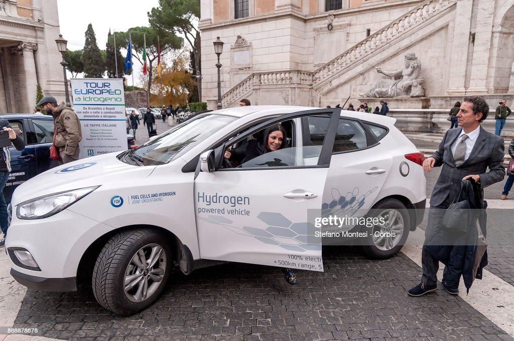 Hydrogen tour to Rome : News Photo