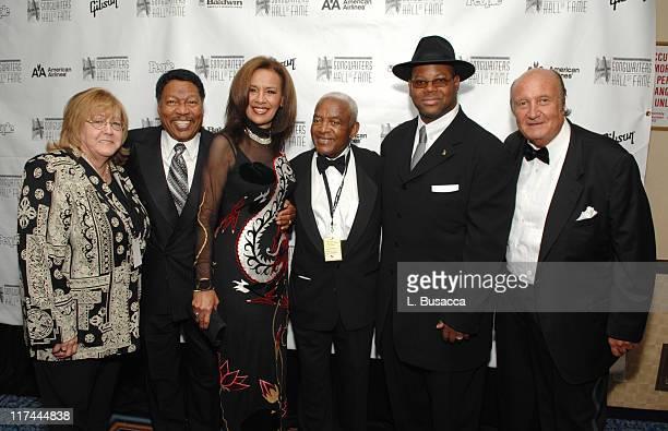 Linda Moran Billy Davis Marilyn McCoo Irving Burgie Jimmy Jam and Don Kirshner