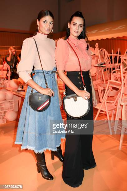 Linda Morselli and Catherine Poulain attended the Bally Spring Summer 2019 Press Presentation during Milan Fashion Week on September 22 2018 in Milan...