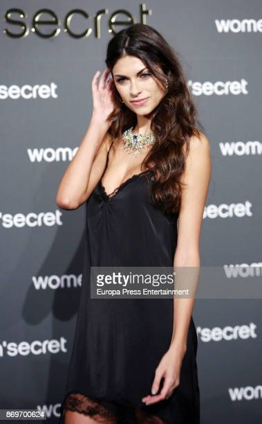 Linda Morselli attends the event Women'Secret Night to present the campaign Wanted on November 2 2017 in Madrid Spain