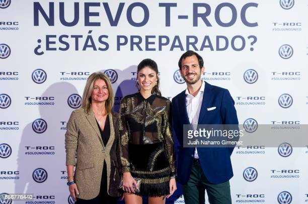 Linda Morselli attends Volkswagen TROC at Only You Hotel on October 26 2017 in Madrid Spain