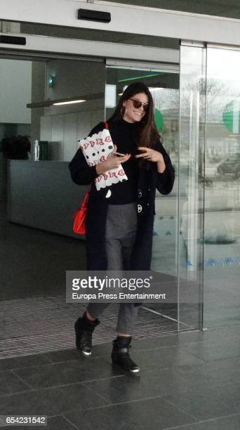 Linda Morselli is seen on March 7 2017 in Barcelona Spain