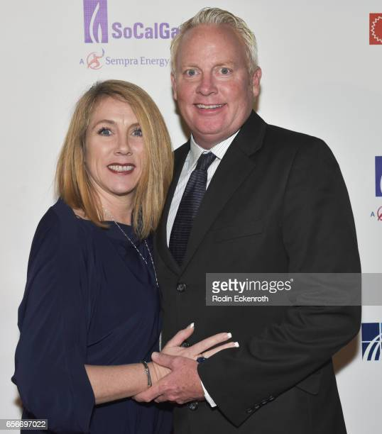 Linda NikkiBlack and Bill Black attend California Fires Foundation's 4th Annual Foundation Gala at Avalon Hollywood on March 22 2017 in Los Angeles...