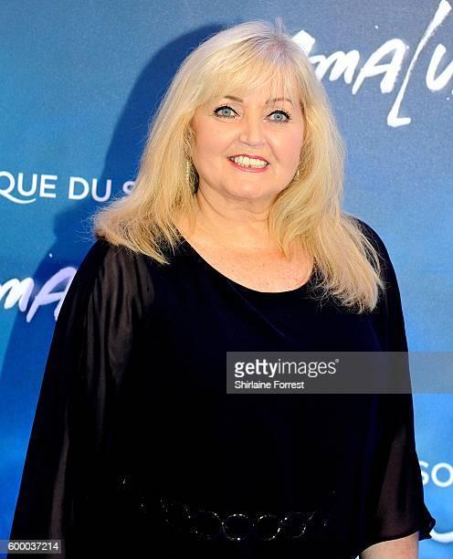 Linda Nolan arrives at the press night for Cirque Du Soleil's 'Amaluna' at The Big Top Intu Trafford Centre on September 7 2016 in Manchester England