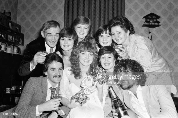 Linda Nolan celebrates her 21st birthday at home in Ilford with her family, parents Tommy and Maureen, sisters Maureen, Bernie, Coleen and Denise and...