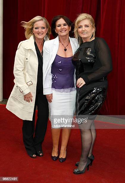 Linda Nolan Maureen Nolan and Bernie Nolan attend 'An Audience With Michael Buble' at The London Studios on May 3 2010 in London England