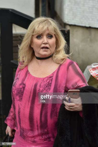 Linda Nolan seen at the ITV Studios on March 5 2018 in London England