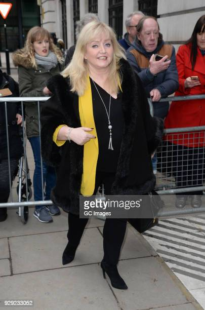 Linda Nolan sighting at The BBC on March 8 2018 in London England