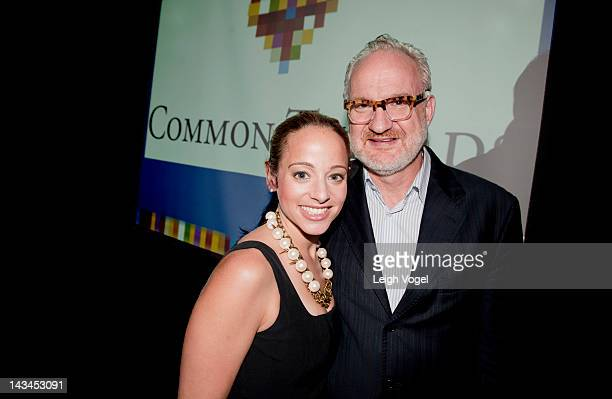 Linda Novick O'Keefe and Art Smith attend An Evening with Common Threads Chefs Celebrating Children in the Kitchen at The Liaison Capitol Hill Hotel...