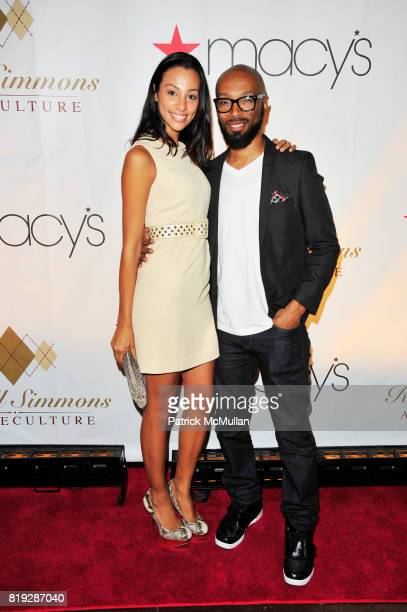Linda Oliver and attend RUSSELL SIMMONS MACY'S celebrate RUSSELL SIMMONS ARGYLECULTURE FALL 2010 Menswear Presentation at Ampersand Studios on August...