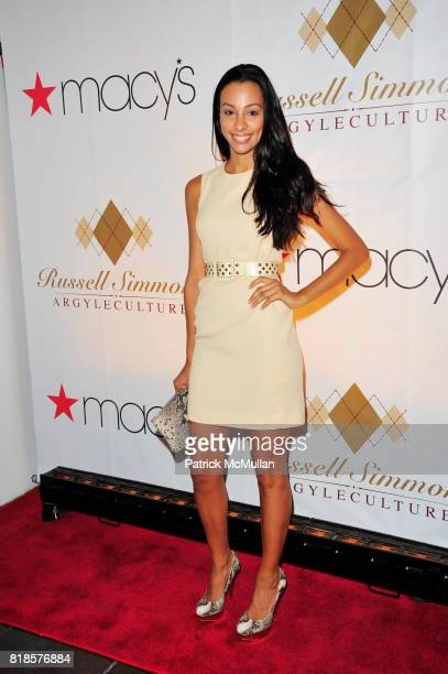 Linda Oliver attend RUSSELL SIMMONS MACY'S celebrate RUSSELL SIMMONS ARGYLECULTURE FALL 2010 Menswear Presentation at Ampersand Studios on August 3rd...