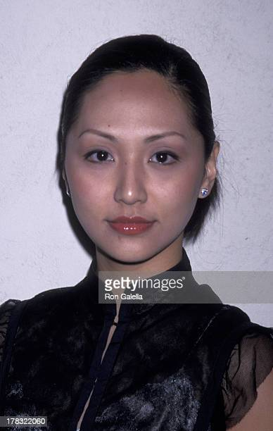 Linda Park attends UPN TV Winter Press Tour on January 14 2002 at the Twin Palms Restaurant in Hollywood California