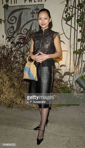 Linda Park during 2002 UPN Network Winter TCA Press Tour at Twin Palms Restaurant in Pasadena California United States