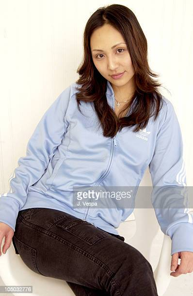 Linda Park during 2003 Sundance Film Festival Linda Park Portraits at YAHOO Movies Portrait Studio in Park City Utah United States