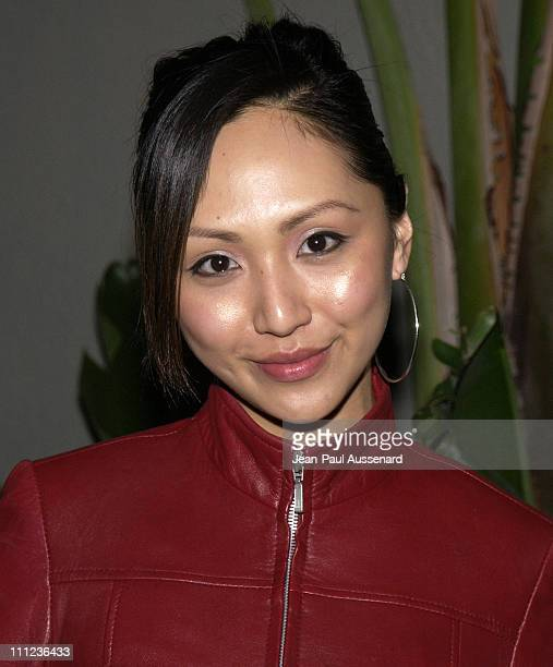 Linda Park during Eric Balfour and Band in Concert at the GQ Lounge at GQ Lounge at White Lotus in Hollywood California United States