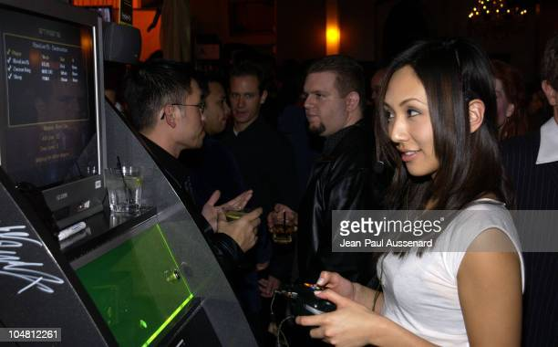 Linda Park during Launch Party For Xbox Live Party at Peek at The Sunset Room in Hollywood California United States
