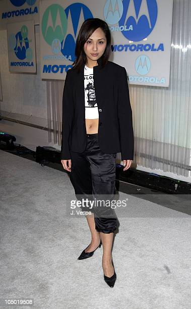 Linda Park during Motorola 4th Annual Holiday Party Arrivals at The Lot in Hollywood California United States