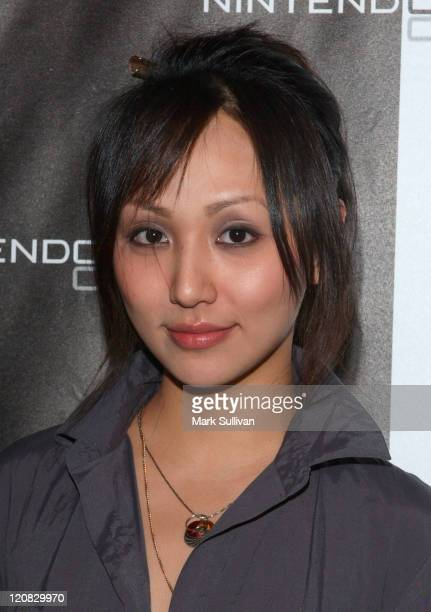 Linda Park during Nintendo DS Pre Launch Party at The Day After Arrivals at The Day After in Hollywood California United States