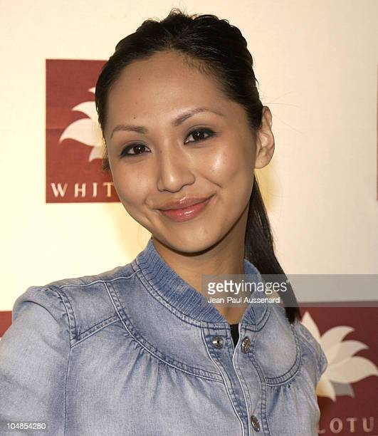 Linda Park during White Lotus Grand Opening at White Lotus in Hollywood California United States