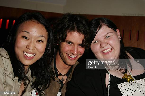 Linda Park Evan Miller and Ashley Fink during 5th Annual Tribeca Film Festival Fat Girls Screening and After Party at AMC Loews 11th St Cinemas in...