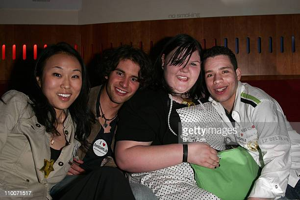 Linda Park Evan Miller Ashley Fink and Robin DeJesus