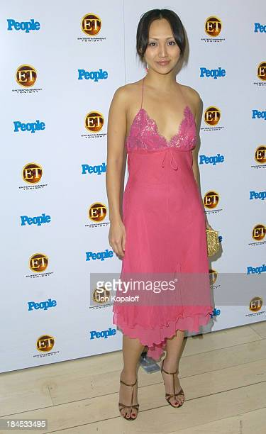 Linda Park NYPD Blue during Entertainment Tonight Emmy Party Sponsored by People Magazine Arrivals at The Mondrian in West Hollywood California...