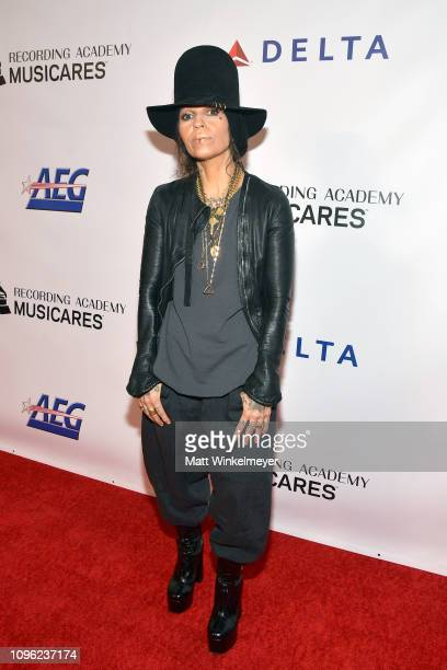 Linda Perry attends MusiCares Person of the Year honoring Dolly Parton at Los Angeles Convention Center on February 8 2019 in Los Angeles California