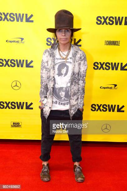 Linda Perry attends SXSW at Austin Convention Center on March 15 2018 in Austin Texas